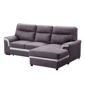 Wholesale modern Living Room couch Furniture L Shape New Arrival Fabric Corner Storage Sofa