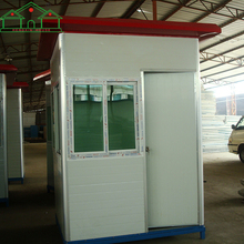Cheap price security sentry box shed prefab house design