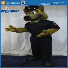 Realistic police service dog military furry anthro high quality custom mascot costume