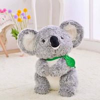 30cm 45cm Plush toy koala stuffed and soft animal toys simulation Australian koala doll best gift for children kid free shipping