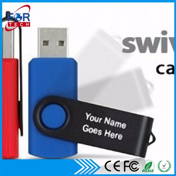 Useful 2gb Usb Flash Drive with Black Fridays Customized Logo Drawing Swivel Memory Stick