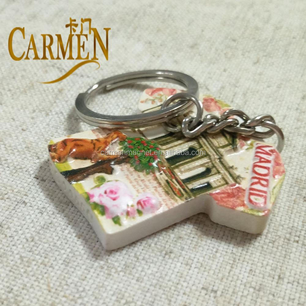 Custom Lowest Price Cheap Key Chains with Useful Decoration