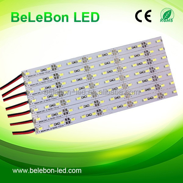 led jewelry case light 5630smd led low voltage dc12v led rigid strip light