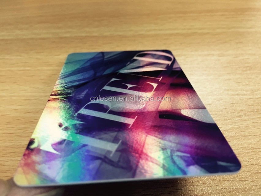 Custom Laser Printing Holographic Business Cards