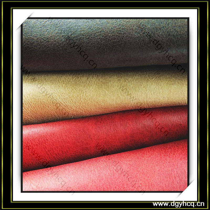 eco friendly durable vintage microfiber leather upholstery fabric
