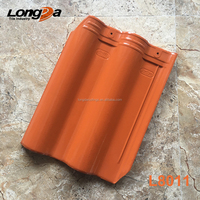 New 300x400 Singapore glazed clay roof tile with best prices
