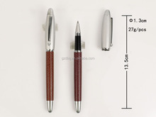 Good Quality Metal Business Gift leather marking pen
