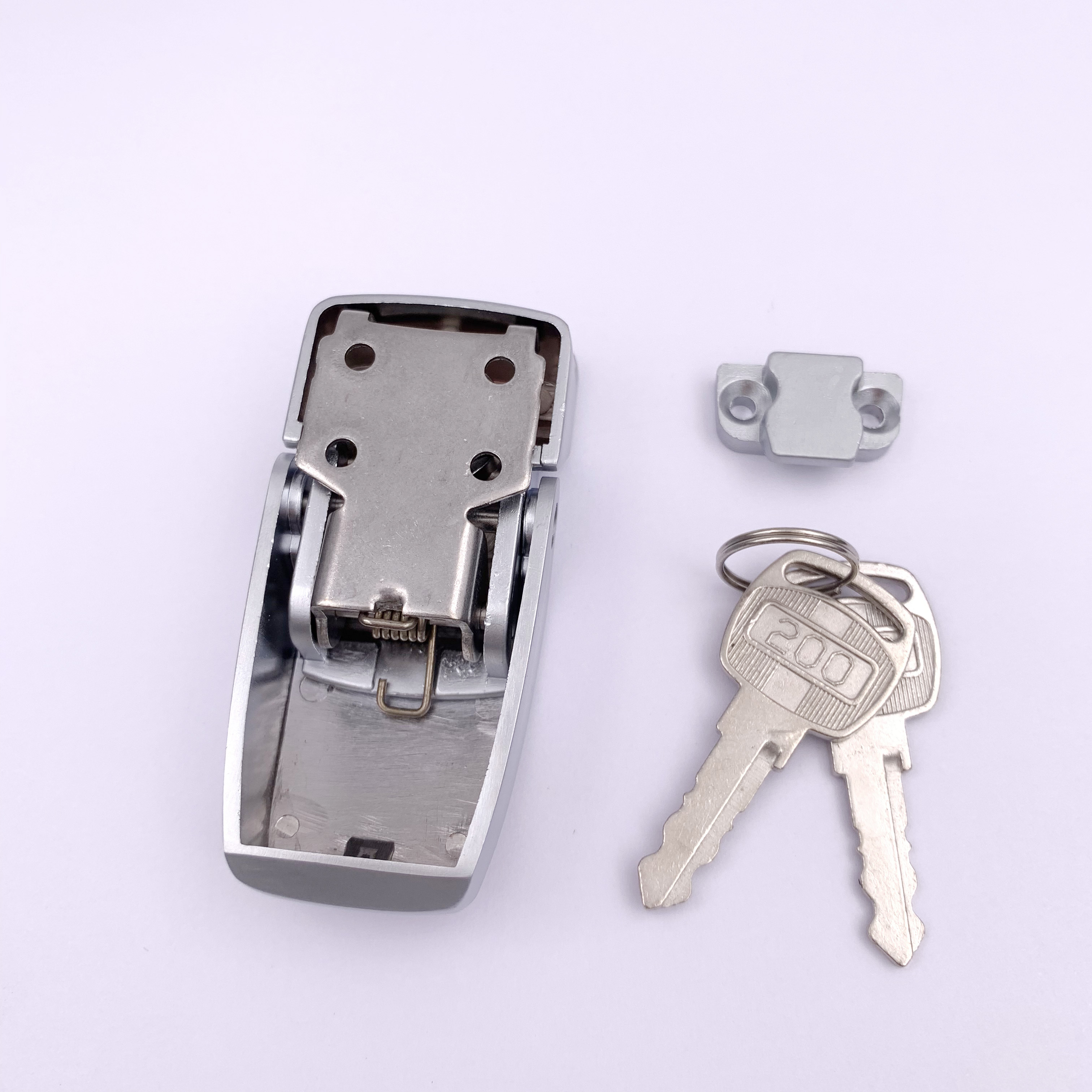 High end unique design over-center Toggle latch/Hasp lock