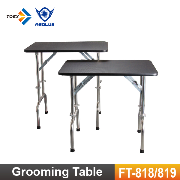 FT-818/819 Height Adjustable Dog grooming Table Pet Folding Show Table for Wholesale
