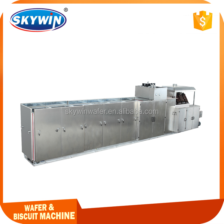 Wafer Biscuit Usage And New Condition Automatic Bakery Machine