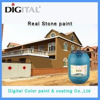 Non-toxic waterproof natural effect Stone texture wall paint