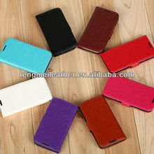 Leather Pouch Protector Card Flip Cover Case holder for samsung galaxy s4 mini,wallet leather case for samsung S4