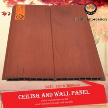 Trade Assurance Wood Plastic Composite WPC Waterproof Garage Wall Covering Panels