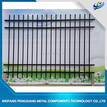 Aluminum Decorative Modern garden rails fence and metal livestock metal fence panels