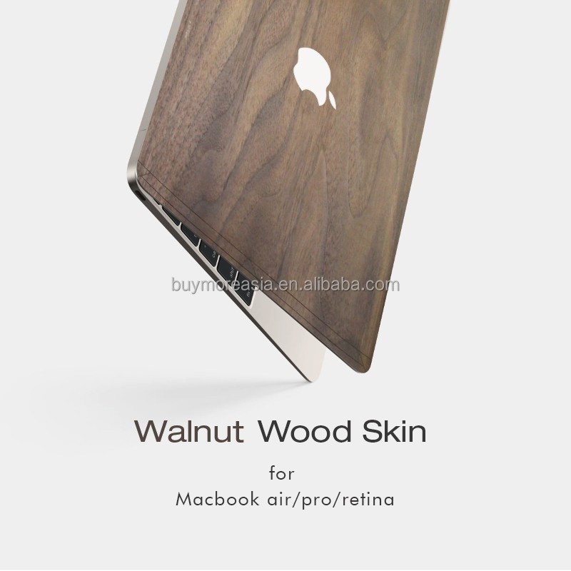 Eco-friendly cover for macbook pro air retina 11 12 13 15 hard wood case for macbook pro case