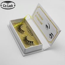Private Label Fluffy Thick 100% Handmade 3d Mink Eyelashes