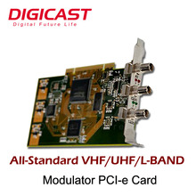 High-end Multi Standard Satellite for PCIE Test Modulators for Various OFDM and QAM Standards