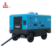 Hot selling portable diesel engine driven screw air compressor