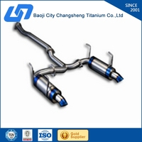 Supply high quality gr2 tianium pipe for HONDA GRV2.4 at factory price