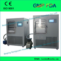 multi-pipe vacuum freeze-drying machine/efficient and durable/lab equipment high quality