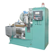 pin type double cooling system bead mill / sand grinding mill
