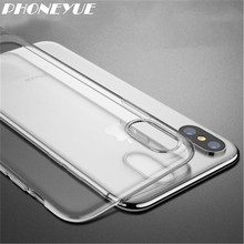New Hot Selling Product Custom Design Your Own Silicone TPU Clear Soft Blank Case For iPhone X