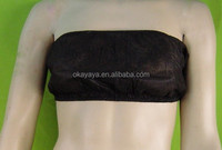 Hot Sales Disposable PP Nonwoven Bra/Bust Dark Bule/Black/Brown Bra Manufacturing Companies