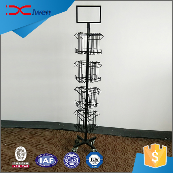 High quality cheap cell phone accessory display rack