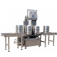 Semi Automatic Beverage Production Line Cans