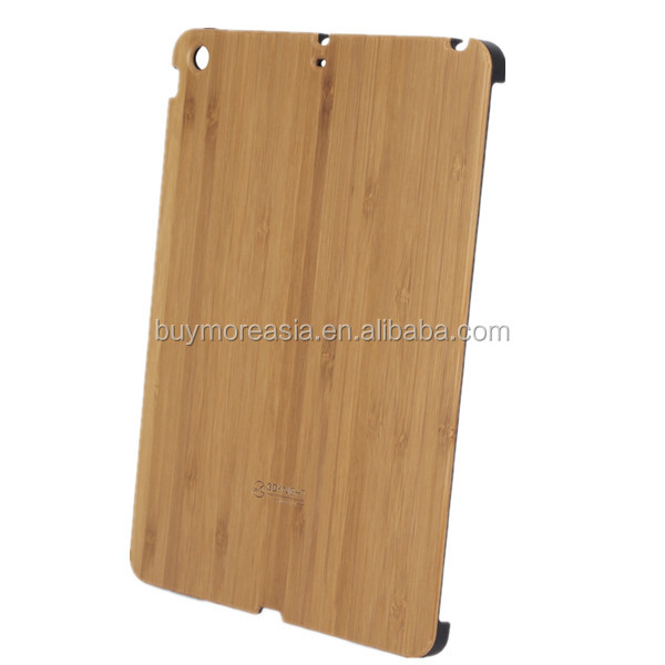 New design Wood Bamboo protective cover case for ipad air
