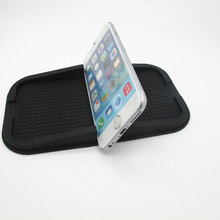 charming design pvc phone anti-slip mat,car sticky silicone rubber pads