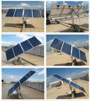 400 Watts Complete Dual axis solar Tracking system w/ mountings 35% more power