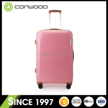 Good price Modern plastic pink suitcase set