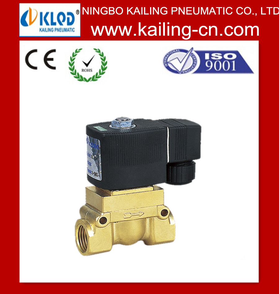 High pressure water control valves / AC or DC/Control Solenoid Valve
