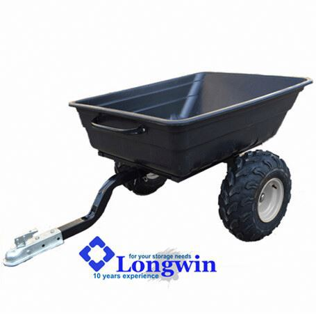 10 cu.ft garden trailer for ride on mower