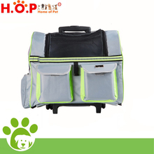 Professional Factory High Quality Acrylic Pets Dog Cage House Folding Trolley Carrier