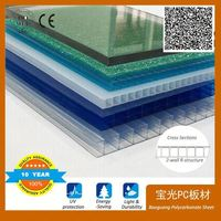 for Agriculture greenhouse polycarbonate roofing sheet