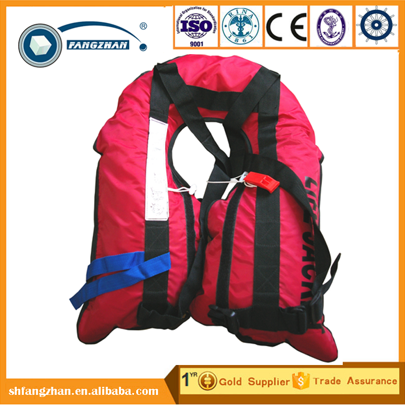 Fangzhan Hot adult inflatable vest life jacket, solas foam life jacket, portable life jacket