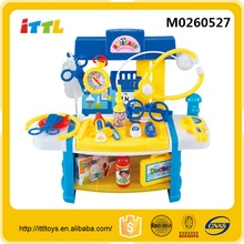 Shantou best supplier kids doctor cart toy kids doctor plastic toy doctor cart toy