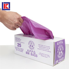 easy tie star seal bottom plastic hdpe garbage bag in roll