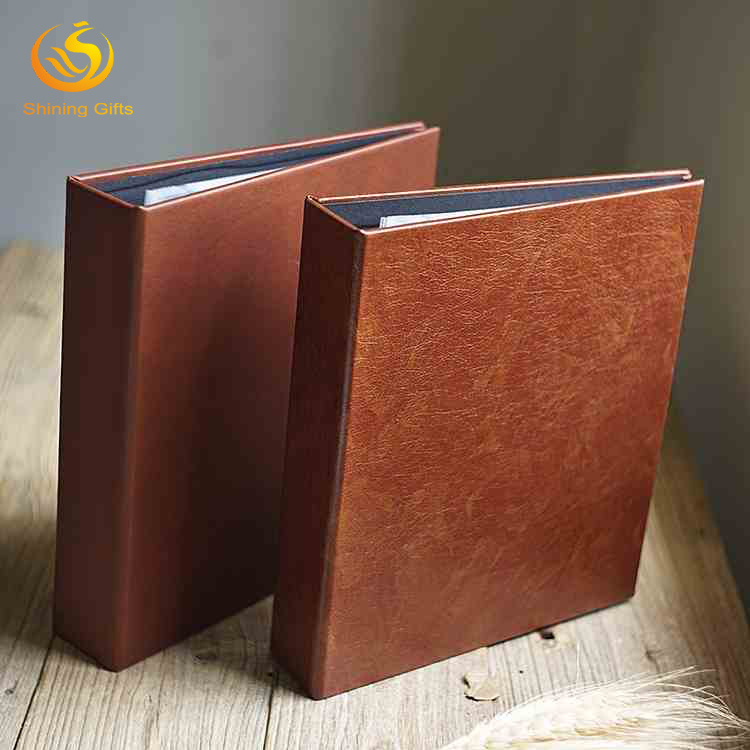 Waterproof Hardcover Photo Album Classical PU leather