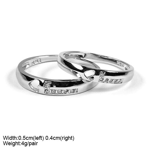 JZ-494 women rings jewelry lover ring 925 sterling silver ring for couple