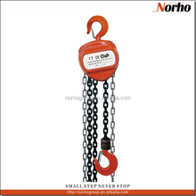 High Quality 0.5T To 20T Chain Pulley Block Mechanism