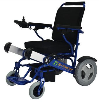 D09 Lightweight Portable Folding Electric Wheelchairs