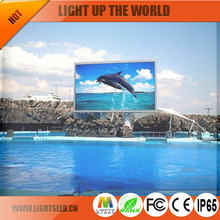 Discount price full color high resolution P8 outdoor football stadium led display manufacturer