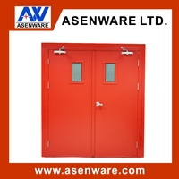 Fire rated pocket door