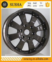 8Jx18 black machine face strong SUV wheel from China factory