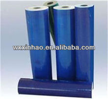Hot sale blue stretch protective film for glass