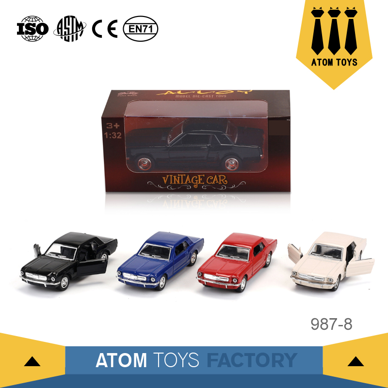 Lovely collection vehicles pull back mini alloy toy diecast model car for boys