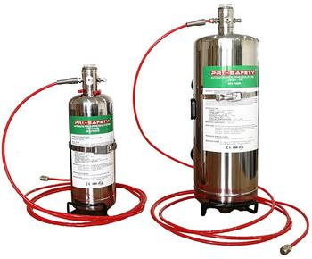 Direct FM200 Automatic Fire Suppression System for Electric Equipment